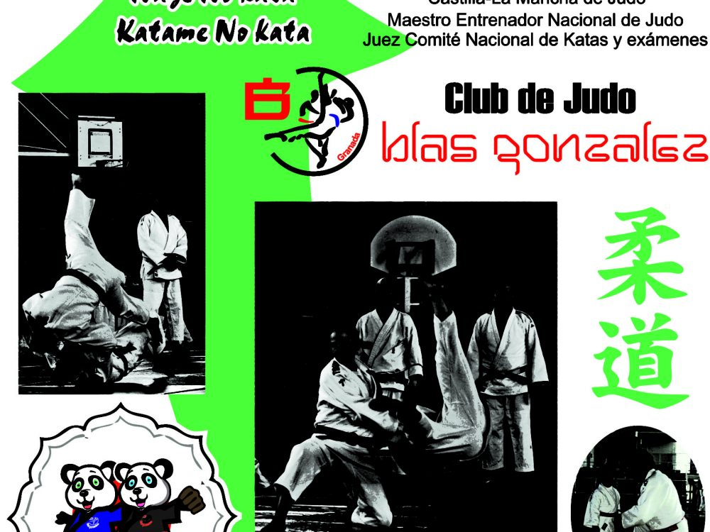 CURSO DE KATAS JUDO PIE Y JUDO SUELO 2018